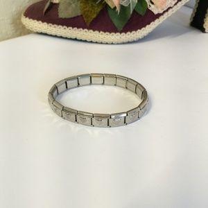Tiffany & Co. Jewelry - Cute Tiffany's Silver tone Heart Bracelet